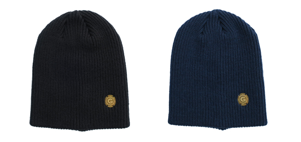 GAVIAL / WOOL WATCH CAP WITH BRASS TAG gavial 中村達也