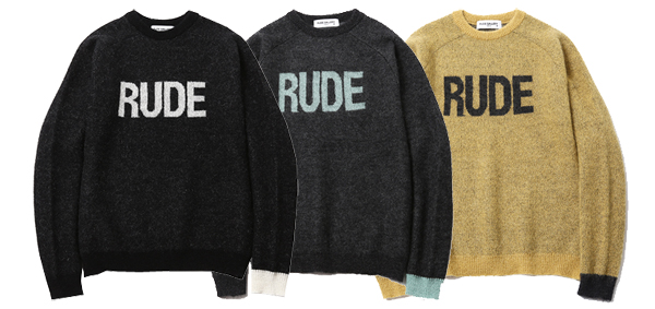 ルードギャラリー RUDE GALLERY / MOHAIR SWEATER - RUDE