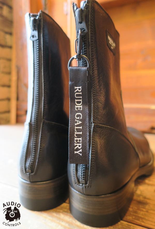 ルードギャラリー RUDE GALLERY / BACK ZIP BOOTS -LEATHER