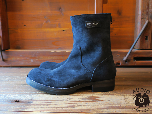 ルードギャラリー RUDE GALLERY / BACK ZIP BOOTS -SUEDE