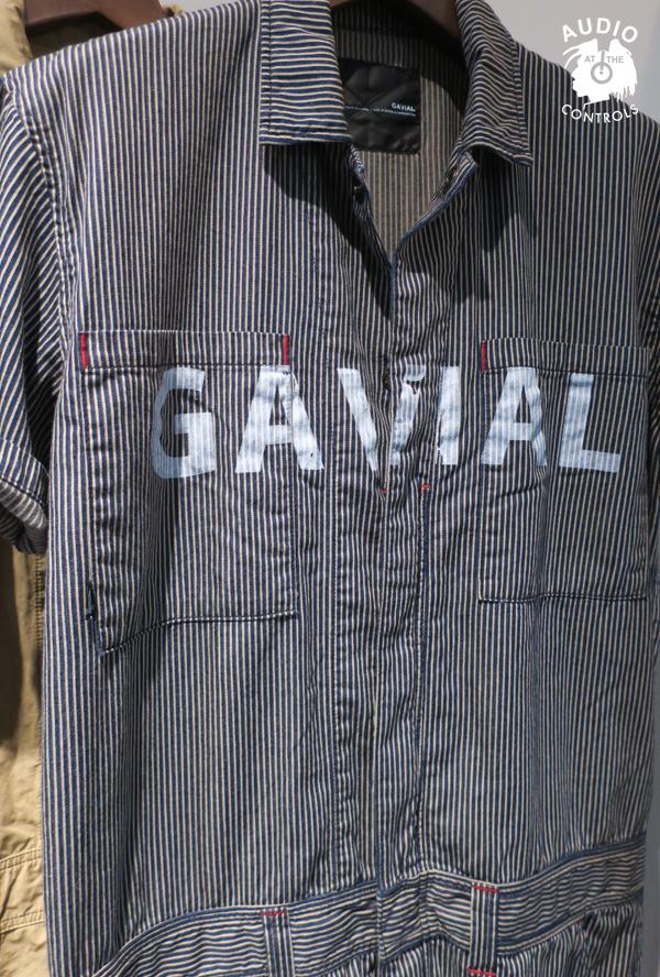 GAVIAL / S/S JUMP SUIT -STRIPE gavial 中村達也