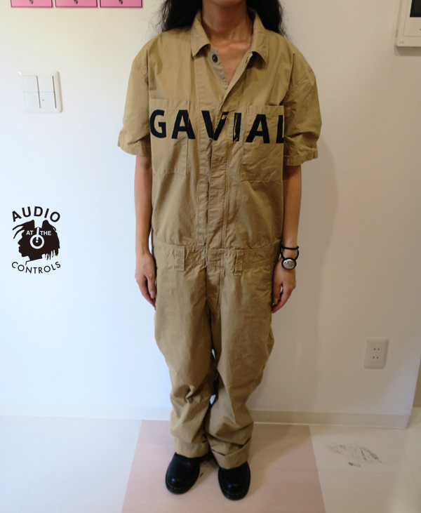 GAVIAL / S/S JUMP SUIT -MUJI gavial 中村達也 ツナギ