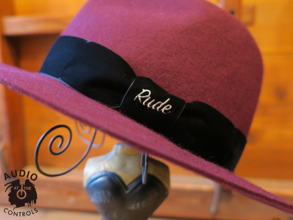 ルードギャラリー RUDE GALLERY / FELT HAT - LOGO EMBROIDERED