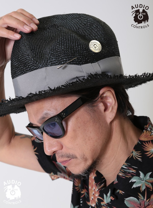 GAVIAL / MOUNTAIN STRAW HAT gavial 中村達也