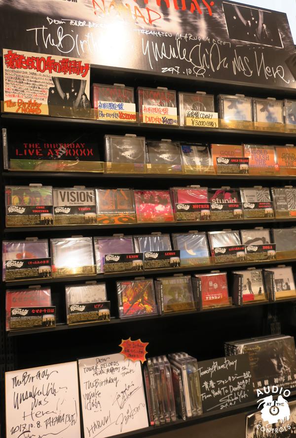 LIVE ALBUM「LIVE AT XXXX」 タワーレコード高松丸亀町店