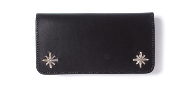 メタルジャケット STARBURST STUDS LONG WALLET