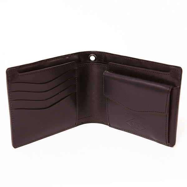 ルードギャラリーブラックレベル RUDE GALLERY BLACK REBEL / OUTSIDERS BRIDLE SHORT WALLET<JOINS HANDS WITH PORTER> 財布