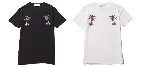 ルードギャラリー RUDE GALLERY / EMBROIDERY TEE -PALM TREE SKULL