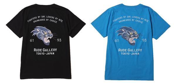 ルードギャラリー   RUDE GALLERY / PANTHER PKT TEE