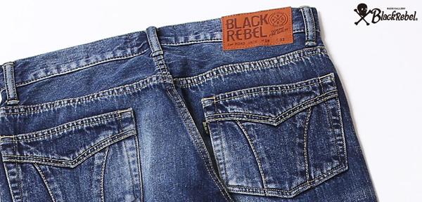 ルードギャラリーブラックレベル RUDE GALLERY BLACK REBEL / ROAD JACK DENIM PANTS <VINTAGE WASH