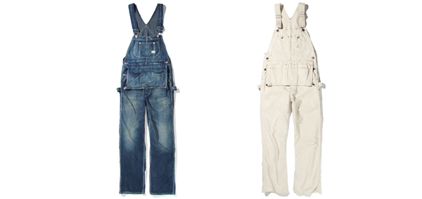 RUDE GALLERY BLACK REBEL / DENIM OVERALLS