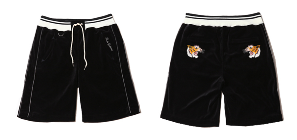 ルードギャラリー RUDE GALLERY / TORA VELOUR SHORT PANTS