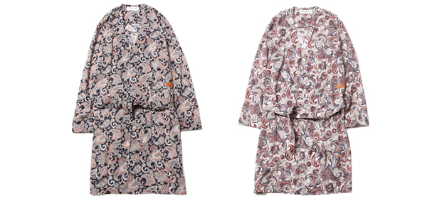 ルードギャラリー RUDE RUDE GALLERY / NO COLLAR ROBE - PAISLEY - LADIES