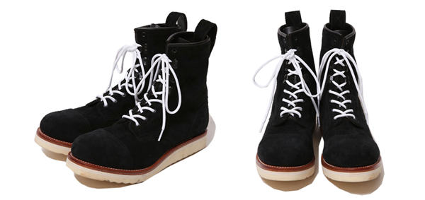 ルードギャラリーブラックレベル RUDE GALLERY BLACK REBEL / REBELS LACE UP BOOTS <CAP TOE,SUEDE>