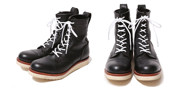 RUDE GALLERY BLACK REBEL / REBELS LACE UP BOOTSルードギャラリーブラックレベル RUDE GALLERY BLACK REBEL / REBELS LACE UP BOOTS <CAP TOE>