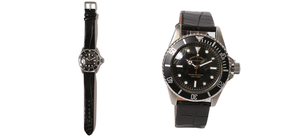 ルードギャラリー RUDE GALLERY / GOOD OLD DIVER WATCH LUXES - CROCO LEATHER