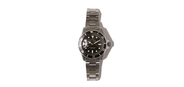 ルードギャラリー RUDE GALLERY / GOOD OLD DIVER WATCH LUXES - STAINLESS STEEL