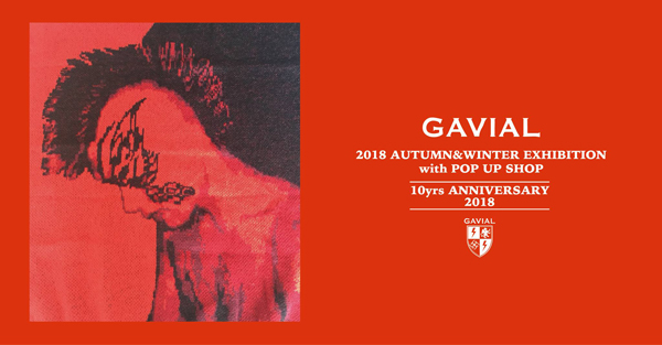GAVIAL 2018 AUTUMN&WINTER COLLECTION 中村達也