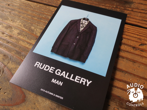 RUDE GALLERY 2018 AUTUMN&WINTER COLLECTION