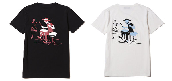 ルードギャラリー RUDE GALLERY / DEADLY DANCE PARTY TEE -DRUM