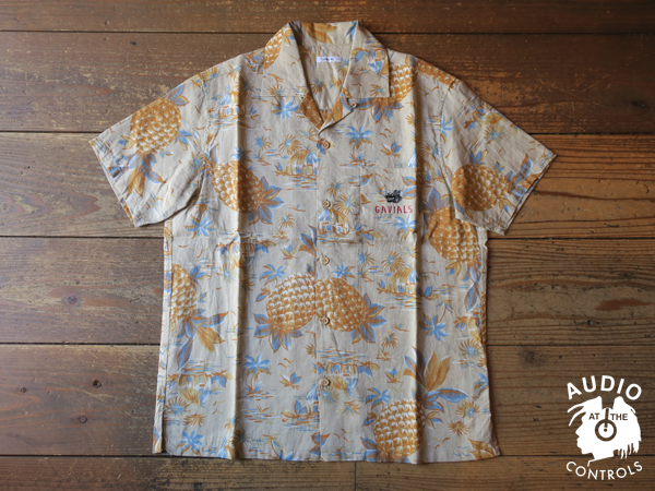 GAVIAL / S/S OPEN SHIRTS_ALL PRINT 中村達也