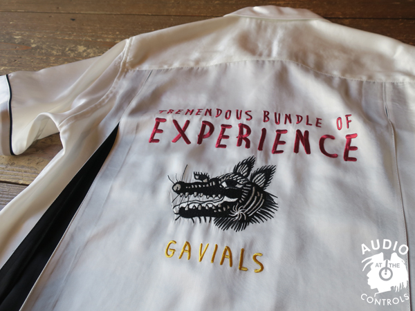 GAVIAL / 10th ANNIV.ITEM BOWLING SHIRTS 中村達也 ボーリングシャツ