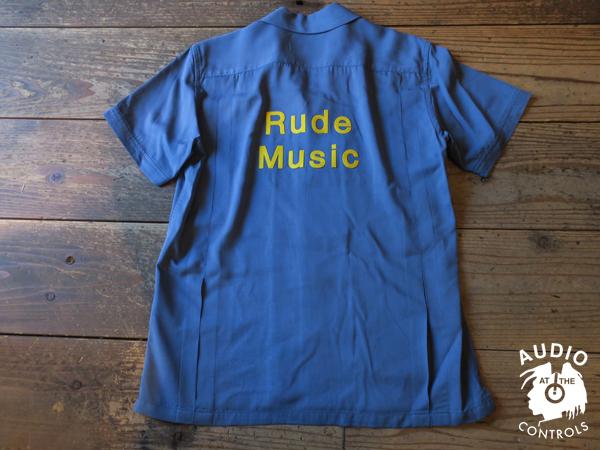 ルードギャラリー RUDE GALLERY / W FLAP OPEN COLLAR SHIRT