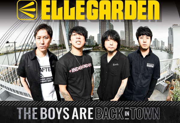 ellegarden the boys are back in town tour 2018 audio blog
