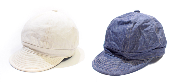 LOST CONTROL / Color Denim Work Cap ロストコントロール