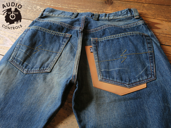GAVIAL / NEW WIDE DENIM PANTS -USED 中村達也