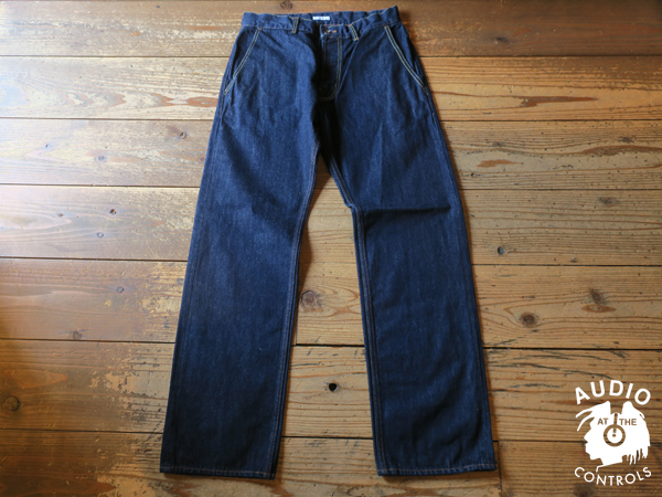 GAVIAL / NEW WIDE DENIM PANTS -ONE WASH 中村達也
