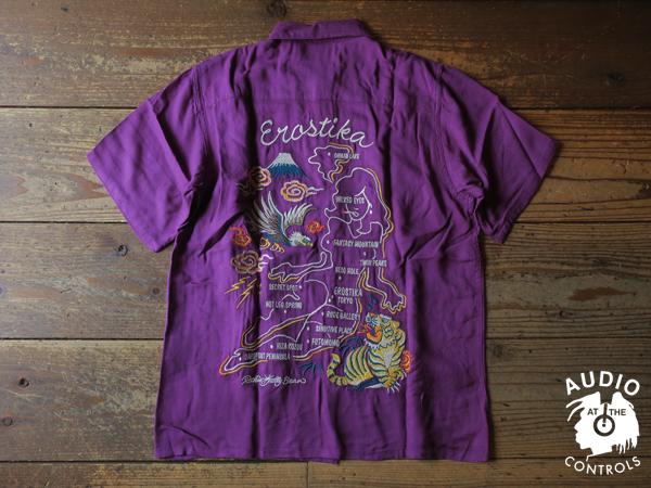ルードギャラリー SKA SHIRT - NUDE MAP <ART WORK by Rockin Jelly Bean>