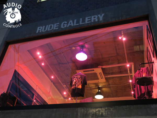 RUDE GALLERY / SKA SHIRT - NUDE MAP <ART WORK by Rockin Jelly Bean>