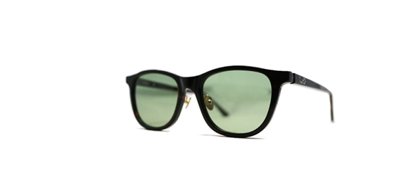 Mr.CASANOVA / BUZZ(Dark Brown Demi / Green Lens)