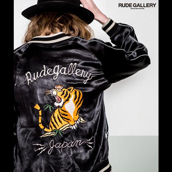 RUDE GALLERY 「STONED TIGER×MARIA SOUVENIR JACKET」
