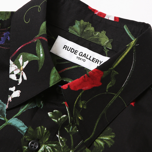 RUDE GALLERY / FLOWER SHIRT ルードギャラリー