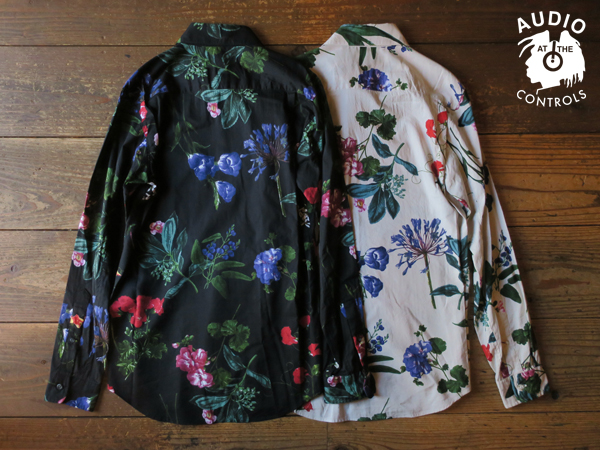 RUDE GALLERY / FLOWER SHIRT ルードギャラリー