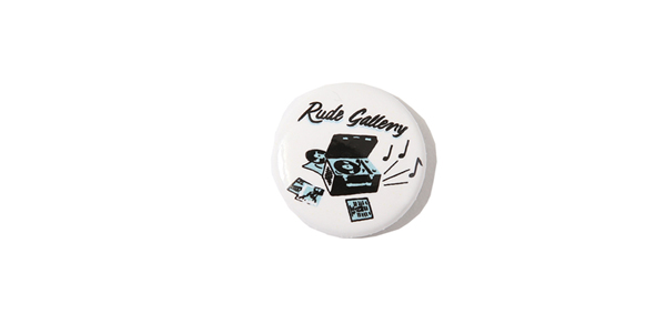 RUDE GALLERY / CAN BADGE ルードギャラリー