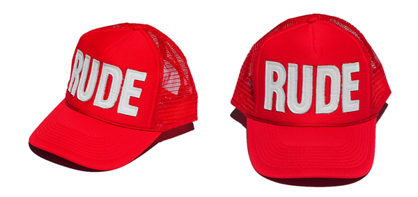 RUDE GALLERY / LEATHER RUDE CAP - LIMITED COLOR ルードギャラリー