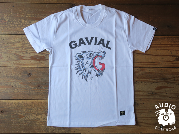 "GAVIAL / 10th ANNIV.COLLABO.ITEM S/S TEE ""roar"" 中村達也"