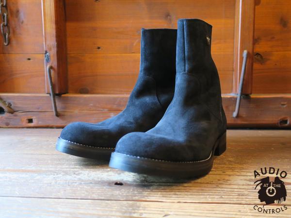 RUDE GALLERY / BACK ZIP BOOTS - SUEDE ルRUDE GALLERY / BACK ZIP BOOTS - SUEDE ルードギャラリーードギャラリー