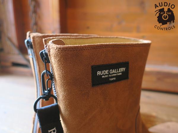 RUDE GALLERY / BACK ZIP BOOTS - SUEDE ルードギャラリー