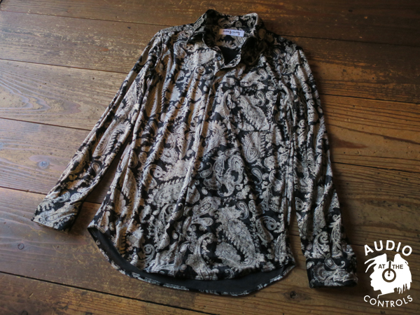 RUDE GALLERY / VELOUR SHIRT -PAISLY ルードギャラリー