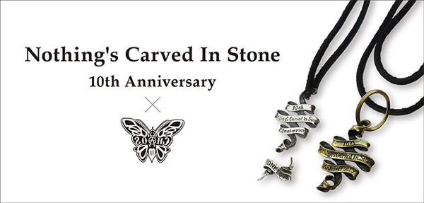Nothings Carved In Stone×CHAOS DESIGN