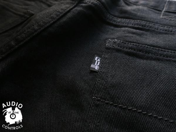 GAVIAL / BLACK SLIM STRETCH DENIM PANTS 中村達也