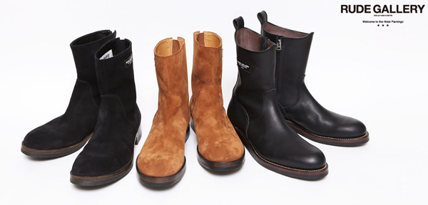 RUDE GALLERY / SIDE ZIP BOOTS ルードギャラリー