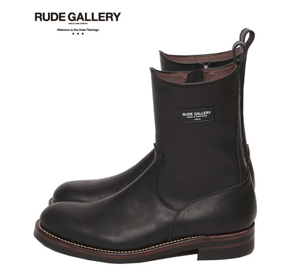 RUDE GALLERY / SIDE ZIP BOOTS ルードギャラリー