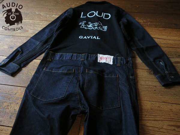 GAVIAL / LS DENIM SWEAT JUMP SUITS 中村達也