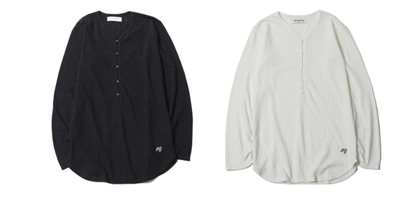 RUDE GALLERY / HENLEY NECK CUT SEW ルードギャラリー
