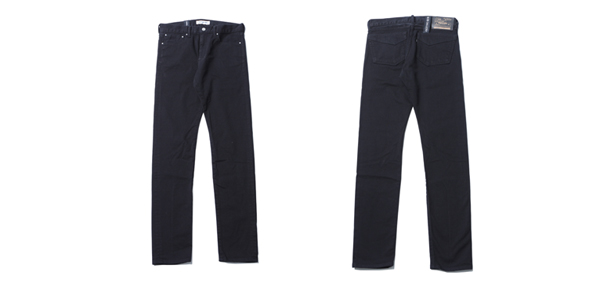 RUDE GALLERY / STRETCH SKINNY PANTS - KUROSURI SERIES MADE IN OKAYAMA ルードギャラリー